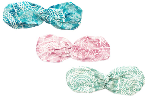Waves and Watermelons Twist Headband Bundle