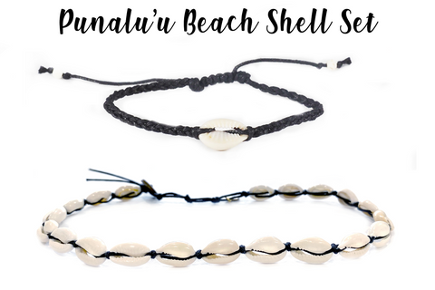 Punalu'u Beach Shell Set