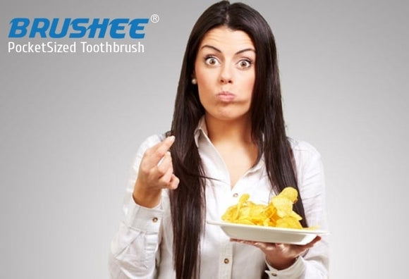Brushee's Tips To A Healthier Smile (Snacking Edition)
