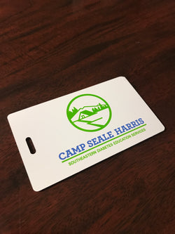 Camp Seale Harris Luggage Tag (Vintage Logo)