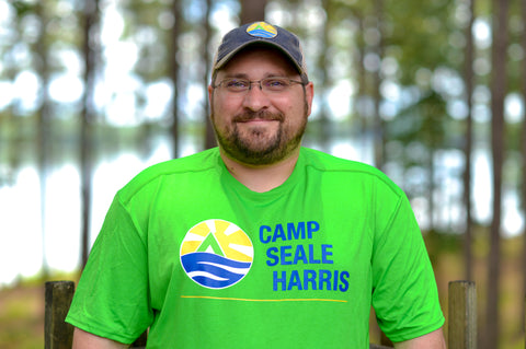 2017 Electric Green Camp Seale Harris T-Shirt