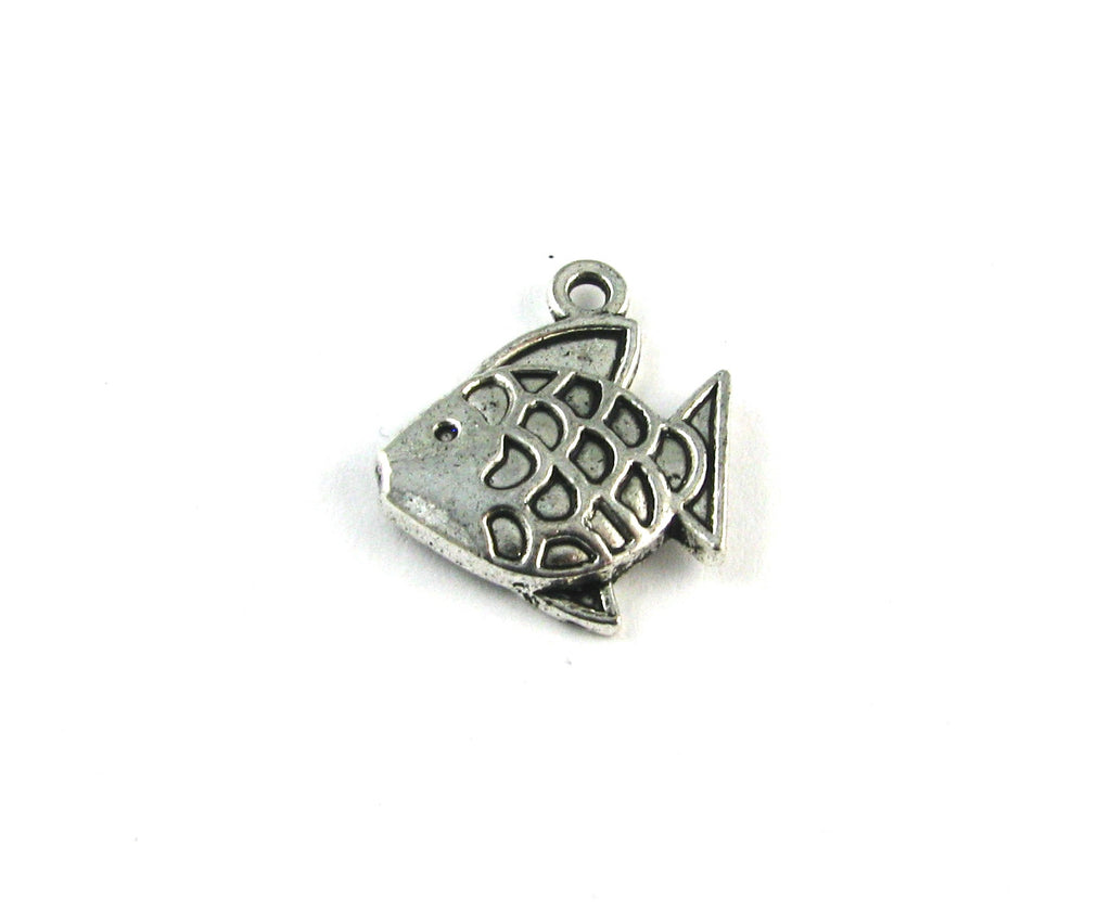 Fish Antique Silver Charm