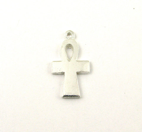 Ankh Cross Antique Silver Charm