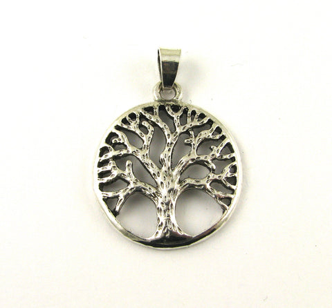 Tree Of Life Medium Antique Silver Charm