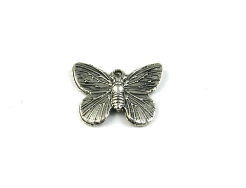 Butterfly Antique Silver Charm