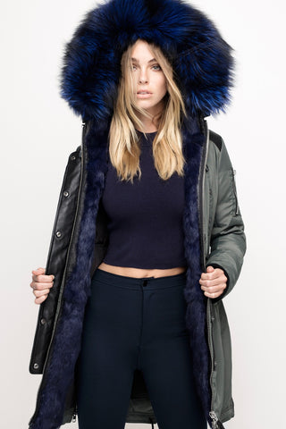 Brera Nicole Benisti winter jacket parka on sale coat colour fox fur