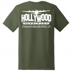 146th AW Hollywood Guard C-130  - Womans Cut T-Shirt - Limited Edition
