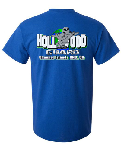 146th AW Hollywood Guard C-130 Design - Mens T-shirt