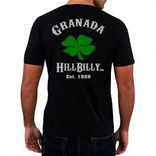 Granada HillBilly Men's Black T-Shirt Short Sleeve