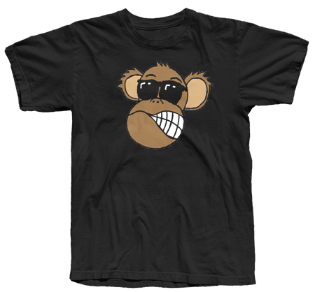 Scruffy Monkey Face T-Shirt