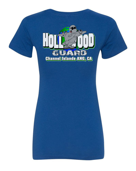 146th AW Hollywood Guard C-130 Design - Womans Cut T-shirt
