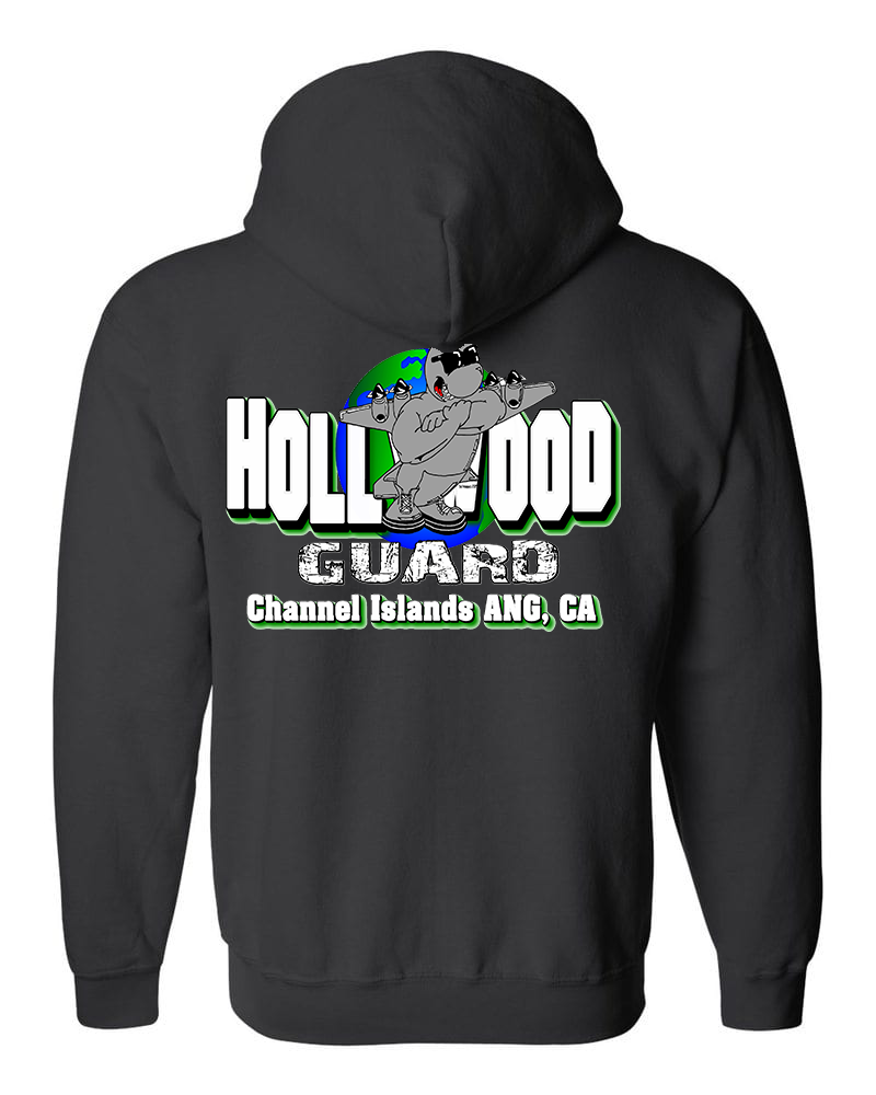 146th Airlift Wing - Zip Up  Hooded Sweatshirt