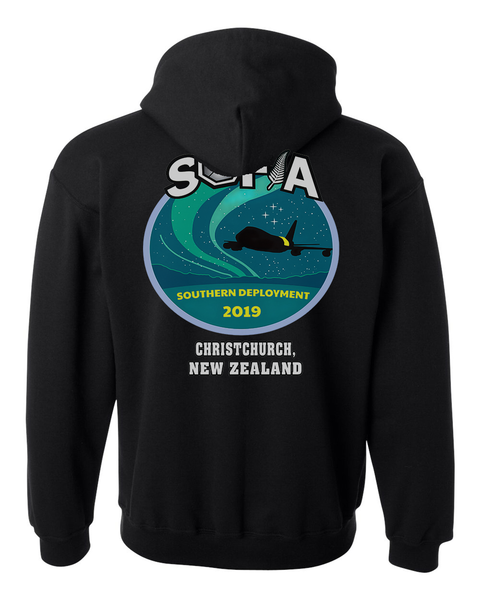 2019 TEAM SOFIA Deployment - Zip Up  Hooded Sweatshirt