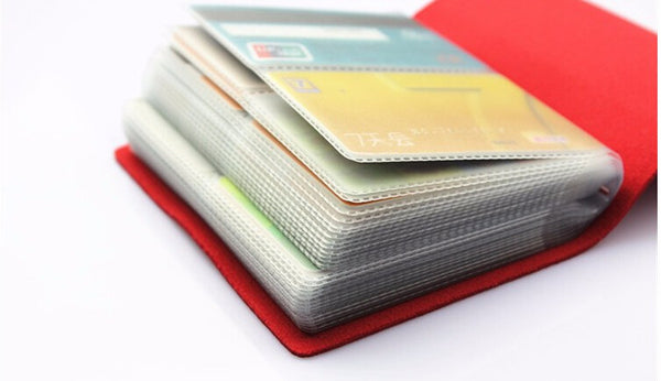 60 Card Slot Holder - Savvycents Wallet