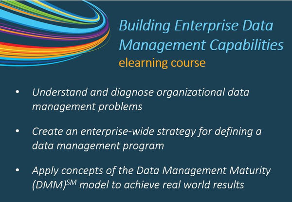 Building Enterprise Data Management Capabilities eLearning