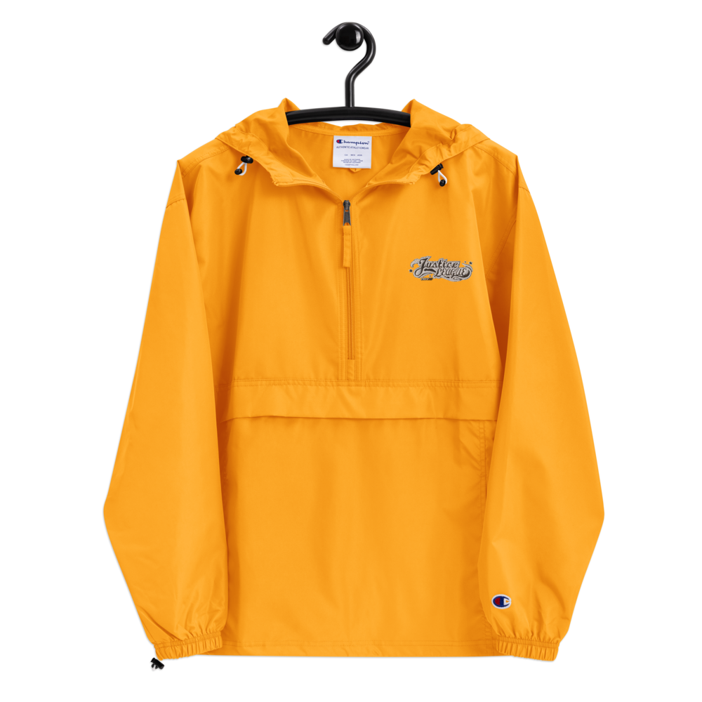 jl 2020 Embroidered Champion Packable Jacket