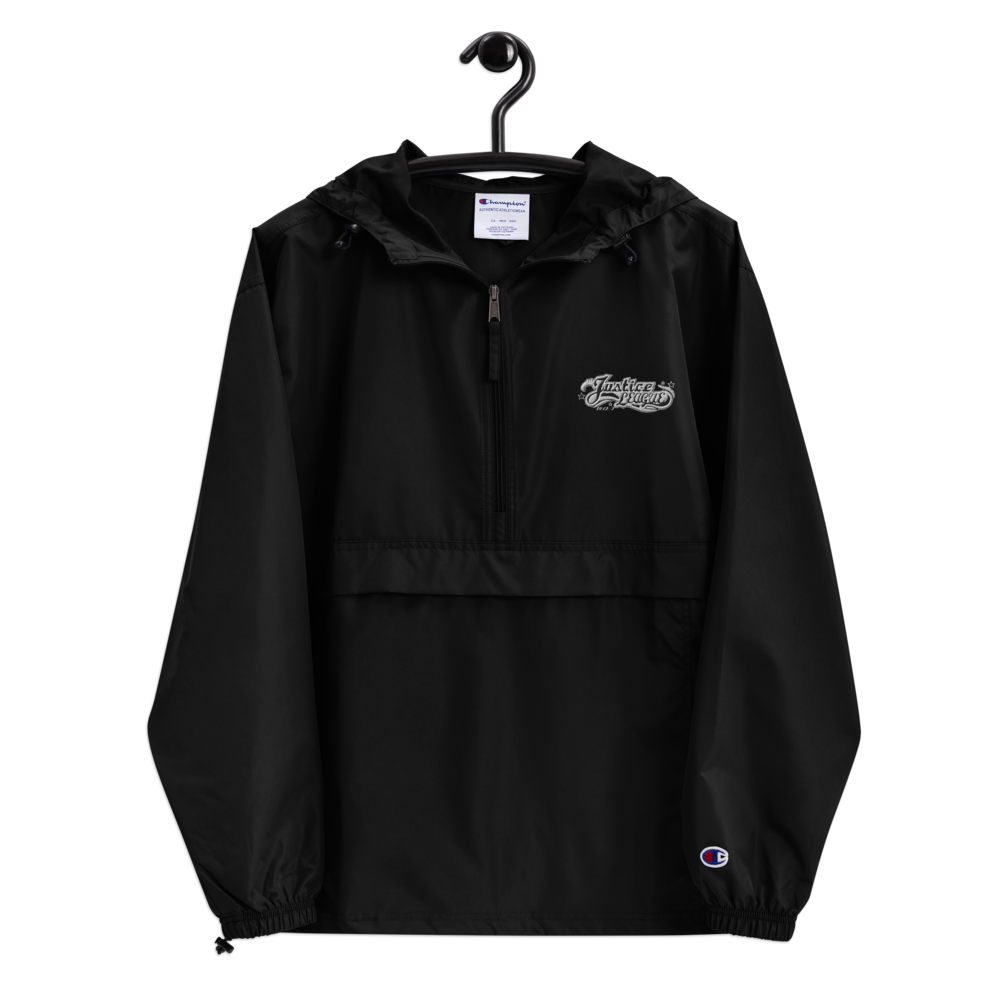 JL Embroidered Champion Packable Jacket