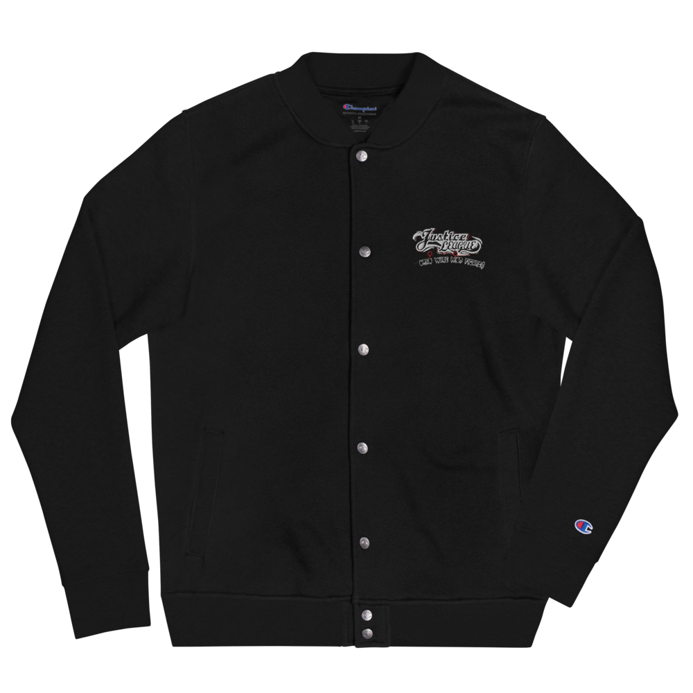 WORLD WIDE MOBB Embroidered Champion Bomber Jacket