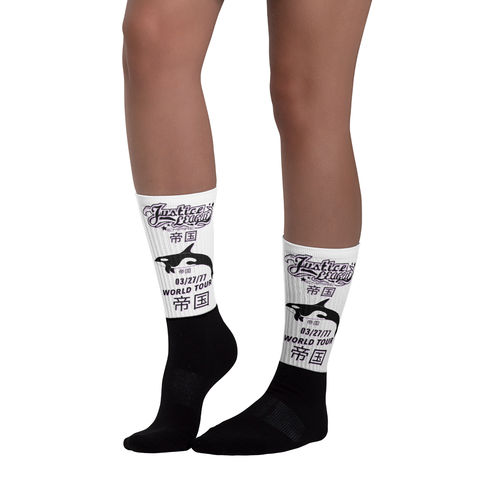 JL KILLER Black foot socks