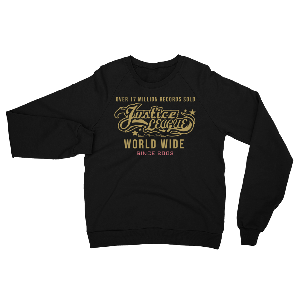 JL SINCE 03 Unisex California Fleece Raglan Sweatshirt