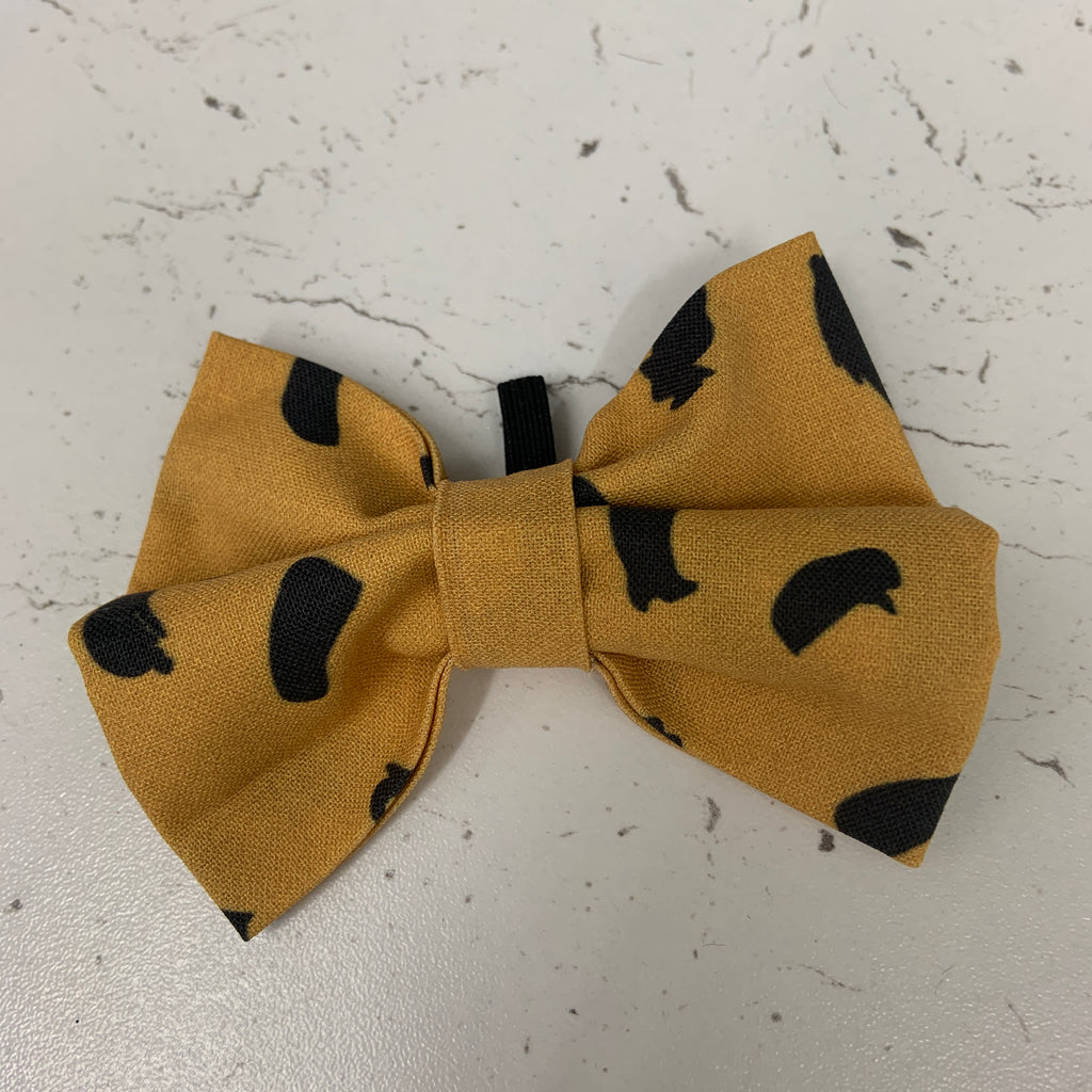 Cookie Crumble - Leopard Print Bow Tie