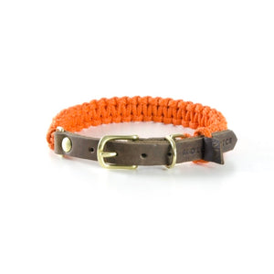 Touch Of Leather Collar Pumpkin