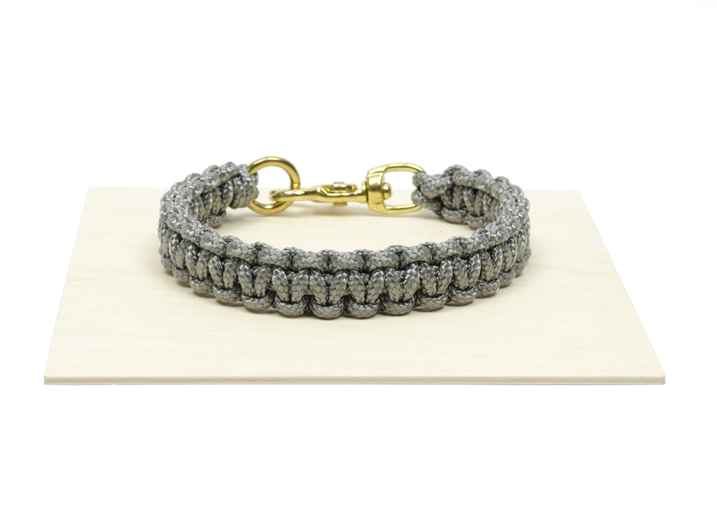 Dog Collar In Gray