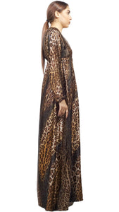 Shehna hussain Dress Leopard Print Dress