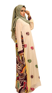 Shehna hussain Dress White Rainbow Dress