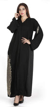 Load image into Gallery viewer, Shehna hussain Golden fall Abaya