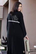 Load image into Gallery viewer, Shehna hussain Rustic Bird cage Abaya