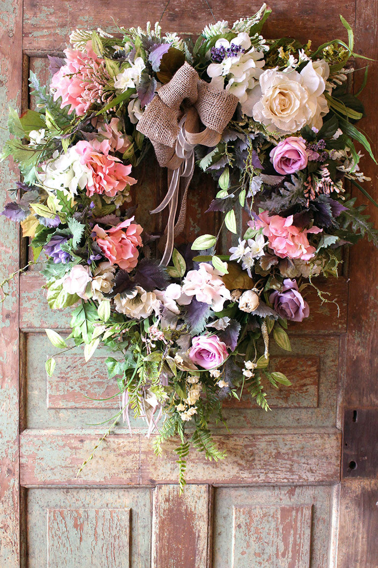 NATURAL GARDEN WREATH (MS 0005)