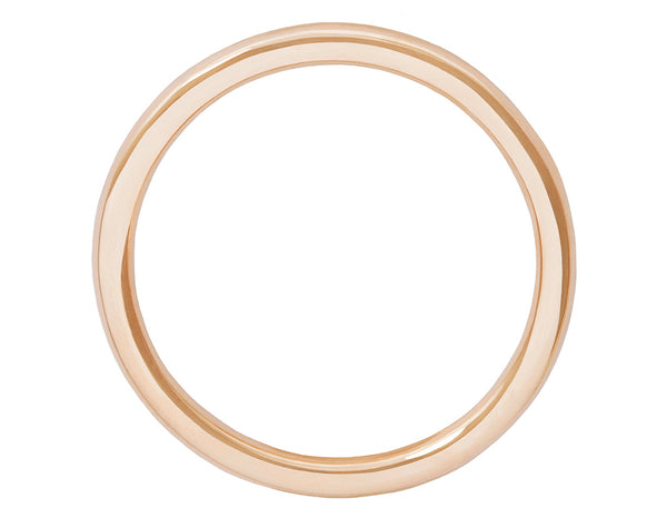 Grace Thin Rose Gold Band 26W
