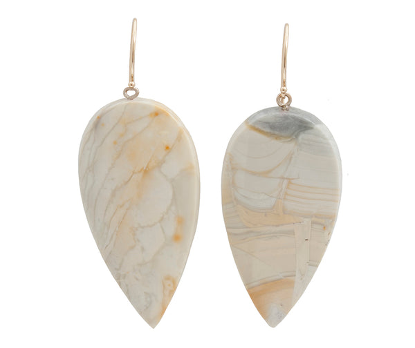Royal Savannah Jasper & Gold Earrings