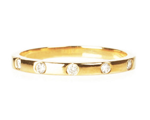 Nouvel Diamond Gold Ring