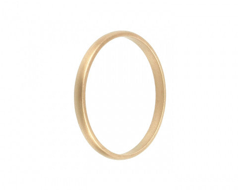 2mm Classic English Gold Wedding Band