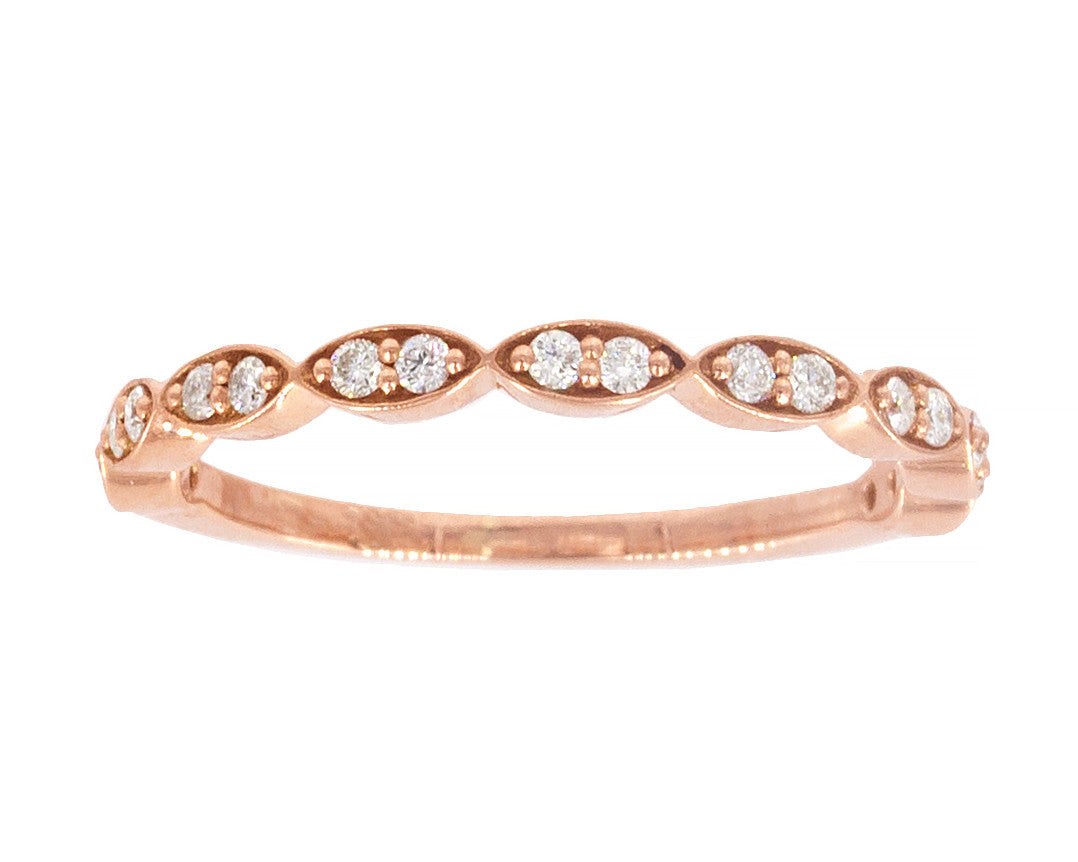 Zoe Marquise Diamond Band