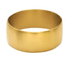 Ava Wide Gold Band