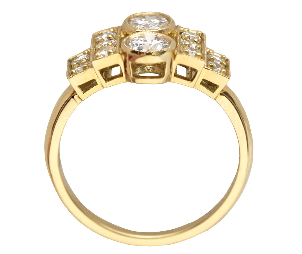 Charlotte Art Deco Diamond Ring