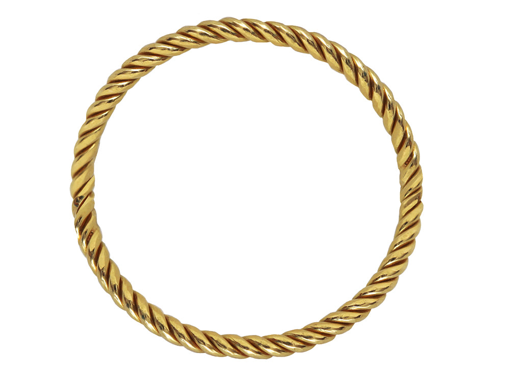 Braided Gold Band