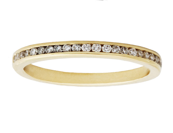 Tilda Channel Set Diamond Eternity Band