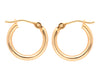 14K Gold Small Hoop Earring