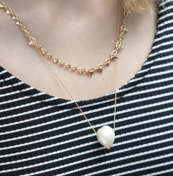 Freshwater Baroque Pearl Necklace