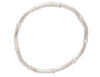 Sterling Silver Bamboo Bangle