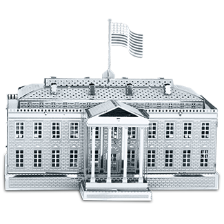 Metal Earth - The White House - Finnegan's Toys & Gifts