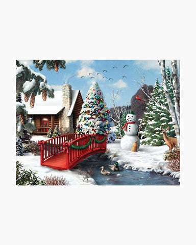Winters Home 500 pc Puzzle
