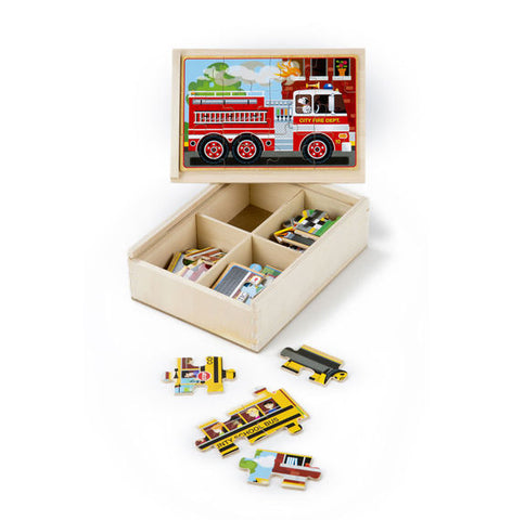 M&D Vehicle Puzzles in a Box