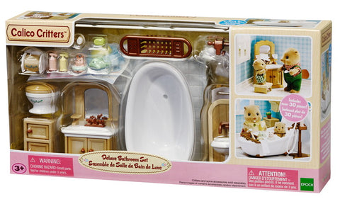 Calico Critters - Deluxe Bathroom Set