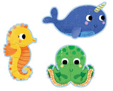 In the Sea Progressive Puzzles:  4, 6, and 9 pcs