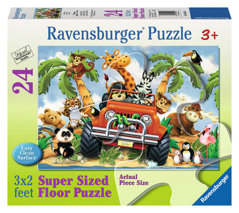 4-Wheeling 24 pc Floor Puzzle - Finnegan's Toys & Gifts